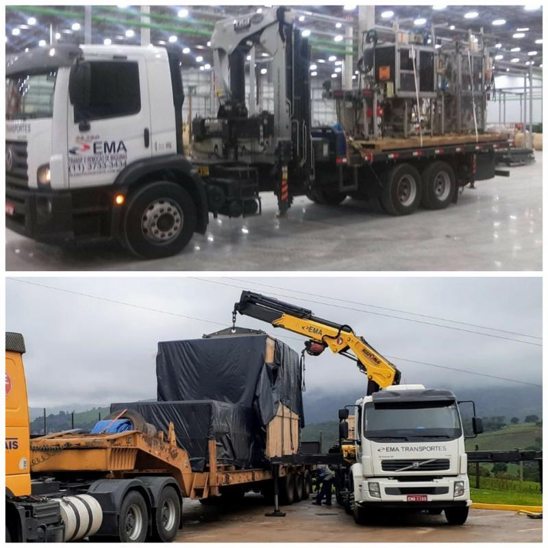 A logística por trás do transporte de máquinas e equipamentos