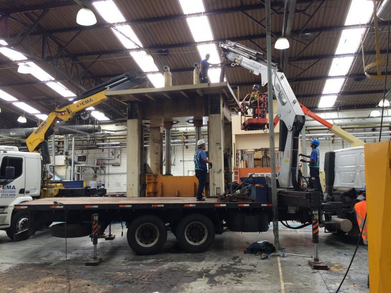 Operações de Montagem e Desmontagem Industrial