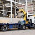 Plano de rigging para caminhão munck