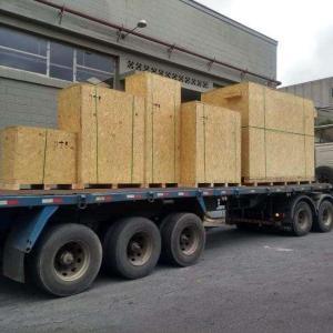 Caixa madeira para exportação