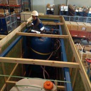 Embalagem madeira para exportação