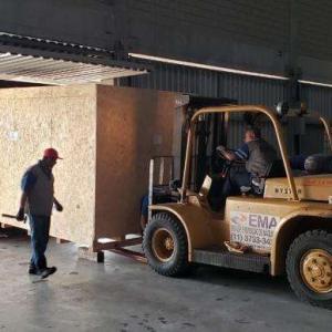 Procedimento de estufagem de container