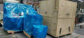 Embalagem plastica para maquina
