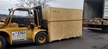 Empresa de estufagem de container
