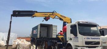 Empresa de transporte de container