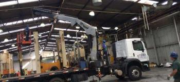 Equipamentos para remoção de máquinas