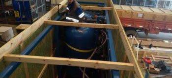 Peação de container