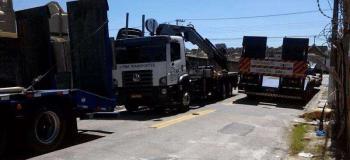 Transporte de cargas excedentes